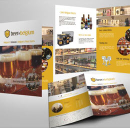 Beer of Belgium - Leaflet/Flyer ontwerp