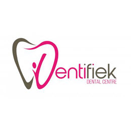 Design a timeless and high-end logo for a new dental practice, 'Dentifiek'